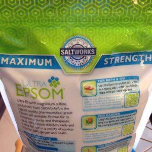 Muối Epsom nguyên chất – Ultra Epsom – 5lbs (2.27kg)
