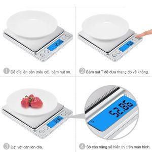Cân điện tử tiểu ly mini, thực phẩm nhà bếp, R02, 200g/0.01g, 500g/0.01g