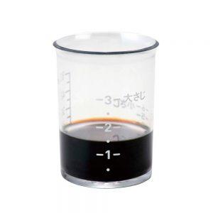 Bộ 2 cốc đo lường chia vạch 50ml KAI DH-2510 (Nhật Bản), ca đo lường chịu nhiệt