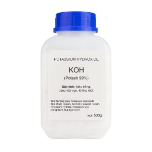 KOH làm xà phòng (Xút KOH, Potash, Potassium Hydroxide)