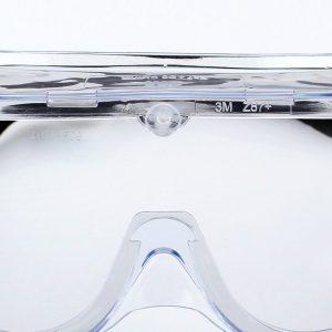 Kính bảo hộ 3M 1621 và 1621AF, chống hóa chất, tia UV, không bám hơi