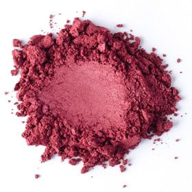 Màu khoáng Mỹ đỏ thẫm rượu vang (Bordeaux Mica)