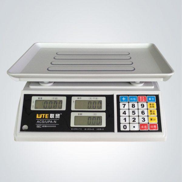 Cân điện tử tính tiền 30kg UTE UPA-Q
