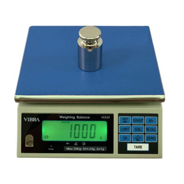 Cân điện tử Vibra Haw 3kg, 6kg, 15kg, 30kg