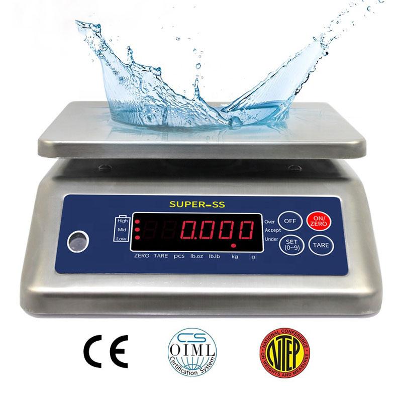 Cân thủy sản điện tử Super SS 3kg, 6kg, 15kg, 30kg